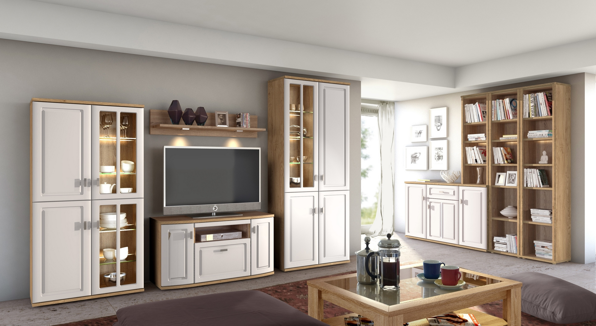 m bel mit stil aus m hlau. Black Bedroom Furniture Sets. Home Design Ideas
